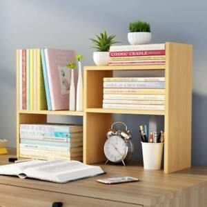 DIY Desk Storage Organizer,Desktop Display Shelf Rack Multipurpose Bookshelf