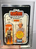 AFA 85 Star Wars 1980 Kenner Lobot ESB 41-back-A (C85 B80 F85) CLEAR NM+