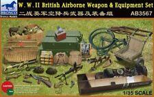Bronco 1/35 WWII British Airborne Weapon & Equipment Set # AB3567
