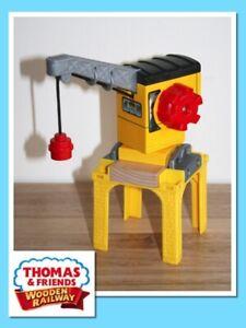 Thomas The Tank Engine Wooden Railway Train BLUE MOUNTAIN QUARRY CRANE