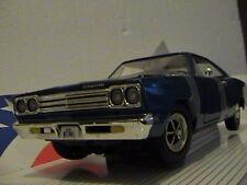 ERTL 1969 PLYMOUTH ROAD RUNNER 1:18 SCALE DIE CAST AMERICAN MUSCLE CAR BLUE