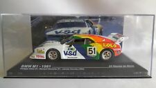 IXO 1/43 BMW M1  #51 P. Alliot / B. Darniche / J. Cecotto 16th 24H LE MANS 1981