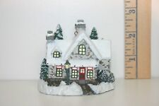 Bradford Editions Ornament Kinkade's Winter Memories Santa's Workshop Toys 2001