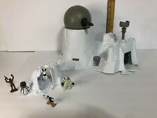 Vintage Star Wars Hoth Ion Cannon Playset & Hoth Wampa Cave Playset