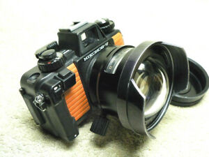 NIKON NIKONOS V Underwater FILM Scuba Camera w/ 15mm f/2.8 Fisheye UW-Nikkor