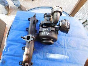 turbocharger VW PASSAT 1.9 TDI 2006