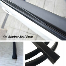 4M V Shape Car Door Window Trim Edge Moulding Weatherstrip Seal Strip Rubber New