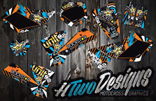 KTM 65 GRAPHICS KIT SX65 2002-2008 DECAL KIT STICKERS GRAPHIC KIT KTM65 DECALS