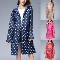 Fashion Women's Wave Rain Jacket Outdoor  Waterproof Windproof  Coat Outwear