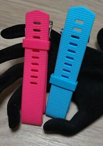 Charge 2, Classic & Special Compatible 2 Pack Silicone Replacement Bands S/P