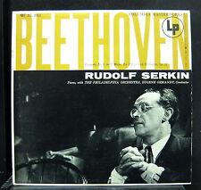 Serkin / Ormandy - Beethoven Concerto No. 1 LP Mint- ML 4914 Mono 6 Eye USA