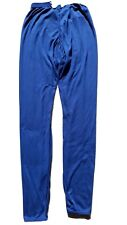 Patagonia Capilene Men's Performance Base Layer Blue Long Underwear Pants L EUC
