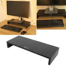 Monitorerhöhung Bildschirmerhöhung Schreibtischregal Halterungen Holz 8cm Hoch
