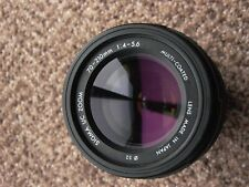 Sigma UC Zoom Canon EF 70-210mm 4~5.6 MC SS mount AF-M Focus scale 9++