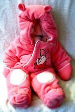 BEAUTIFUL - DISNEY - PINK PIGLET SNOWSUIT - SIZE 3 MONTHS - GREAT GIFT ITEM!!