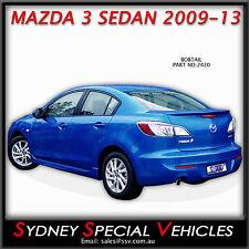 REAR LIP SPOILER OR BOBTAIL FOR MAZDA 3 SEDAN 2009 to 2013 - NEW ABS