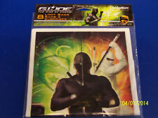 G.I. Joe Rise of Cobra Movie Military Kids Birthday Party Favor Sacks Loot Bags