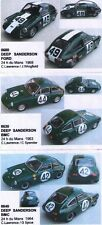 kit 1/43 DEEP SANDERSON COFANETTO 3 AUTO 24h Le Mans 1963-64-68 Mini Racing CF50