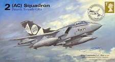 AV600 ESCADRON 2 Tornado officiel 95th Ann RAF AVION COVER 2007 signé Hine OC