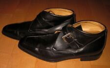 Florsheim Royal Imperial Mens Black Leather Buckle Ankle / Beatle Boots 12 D