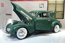 G LGB 1:24 Scale 1939 Chevrolet Coupe Arabian Green Diecast V Detailed Model