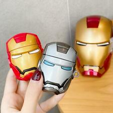 NEW 3D Cartoon Iron Man Batman Charging Earphone For Airpods Pro 1&2 Case Cover