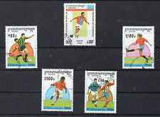Camboya Deportes Futbol valores del año 1995-97 (CQ-709)