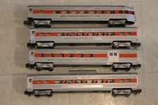 American Flyer NH Orange Stripe 960 961 962 963 Set Streamline Passenger Vintage