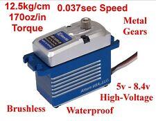 Brushless Waterproof Mg Hv Racing Servo Losi Associated Arrma Hpi Traxxas Axial
