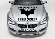 TRIBAL BATMAN LOGO DESIGN DECAL VINYL GRAPHIC HOOD CAR TRUCK