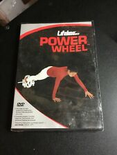 Lifeline Power Wheel Core Workout Exercise Fitness Dvd Sealed