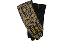 Women's Leather Gloves Made in Italy Cashmere Lined