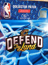 Official Licensed Cleveland Cavaliers 2017 Defend The Land Iron or Sew On Patch