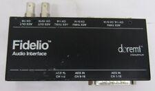 Doremi Fidelio Audio Interface Box Fidelio-Ai