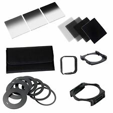 20in1 Neutral Density ND Filter Kit 49-82mm Adapter for Cokin P Set