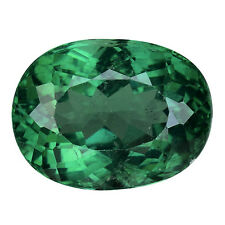 3.340CTS MASSIVE TOP LUSTER BLUE GREEN NATURAL APATITE OVAL LOOSE GEMSTONES