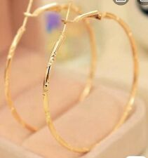 Earring Boho Festival Party Boutique Uk Gold Large Hoop Ring Luxury Fashion