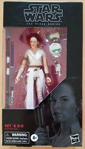 Star Wars Black Series Rise Of Skywalker Rey & D-0 6 Inch Action Figure. BNIB