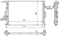 NRF Radiador, refrigeración del motor FORD MONDEO FOCUS S-MAX C-MAX KUGA 53737