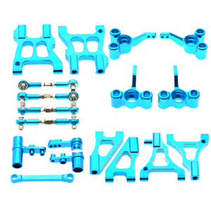 Full Metal Aluminum Aolly Upgraded Part 8 Pieces Set Suit For HSP 94122 RC Car
