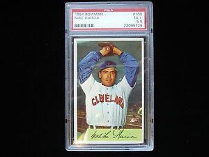 1954 Bowman #100 Mike Garcia Cleveland Indians - EX+ 5.5