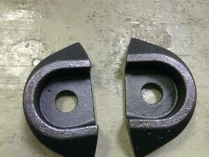 JOHN DEERE MOWER CONDITIONER WEAR PLATE FH303250 SET OF TWO FREE SHIPPING