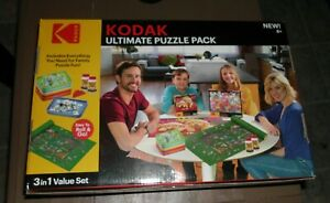 Kodak Ultimate Puzzle Pack with Roll and Go Storage Mat and Puzzle Glue