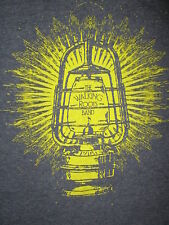 WALKING ROOTS BAND T SHIRT Concert Tour Lantern Americana Folk Christain L/XL