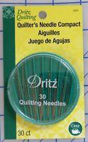 Dritz  Quilting, Quilter's Needle Compact 30/Pkg,  Betweens Assortment Pack.