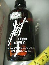 LANG JET  LIQUID  ACRYLIC  120 ml VINTAGE    AMBER   BOTTLE  ORIGINAL   BOX