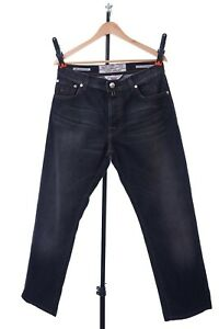 Men's Jacob Cohen TYPE 610 Black Gray ITALY Casual Pants Size - 35