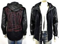 True Religion $199 Men's Contrast Mesh Full Zip Windbreaker Jacket - 100249