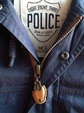 883 Police Bleu Marine Parka. Neuf et Authentique, Taille: 44