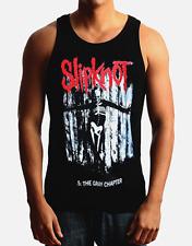 SLIPKNOT Heavy Metal Band Black Tank Top